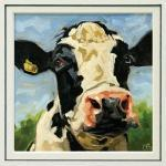 Cow Art Print, From An Ori..